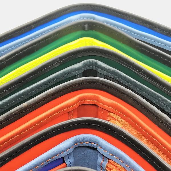 Moška denarnica Črna zračka_iz recikliranega materiala_v videzu usnja 6